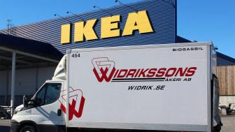 Widrikssons hanterar samtliga IKEAs e-handelsleveranser för södra Storstockholm från 2 april.