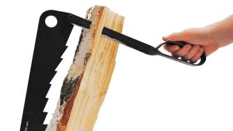 Vedspänten - Klyv ditt vedträ i mindre stickor och få snabbt fart på brasan