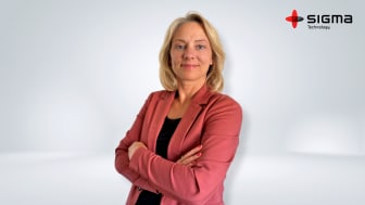 Jenni Aronsson, Unit Manager at Sigma Technology