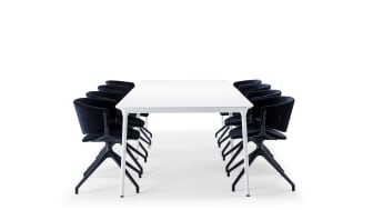 Offecct, Phoenix table by Luca Nichetto