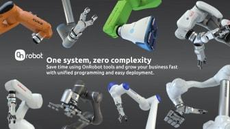 Robotkompatibilitet tatt til neste nivå med  OnRobots One-System-løsning