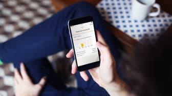En stor del av kunderna i e-handeln handlar genom mobilen.