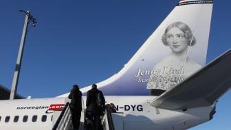 Stark passagerartillväxt för Norwegian i april
