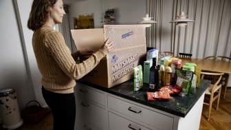 8591 ton räddad mat klickade svenskarna hem år 2020. Det är en 70 procentig ökning jämfört med föregående år, 2019.