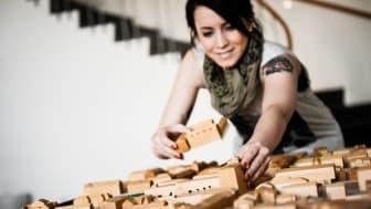 Skellefteå bygger utveckling med trä. Foto: Ted Logart.