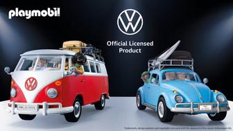 PLAYMOBIL featuring Volkswagen - zwei Markenikonen vereint