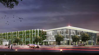 Rendering of Polymer Connected Jakart Barat Indonesia Data Center Campus