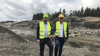 Construction Start DC3-Oslo