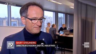 """Bart Steukers: """"Les données, l'acier et le charbon de la nouvelle normalité"""""""