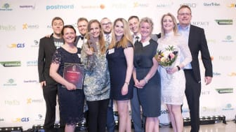 """Sinful vinder """"Årets E-ner"""" ved FDIHs prisfest 2017"""
