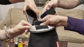 Telefonpåse för mobilfritt umgänge