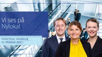 Jonas Bodwall, Pia Carolusson och Christina Kämpe finns på plats på Nylokal.
