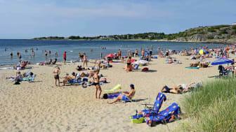Vita Sand, Halland