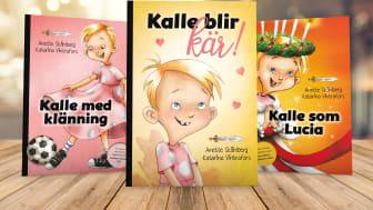 """""""Kalle blir kär!"""" är den tredje boken i serien om Kalle."""