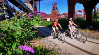 radrevier.ruhr_UNESCO-Welterbe Zollverein per Rad ©Ruhr Tourismus