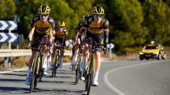 Das Jumbo-Visma Frauenteam ist der diesjährige Neuzugang unter den gesponserten Radsportteams.