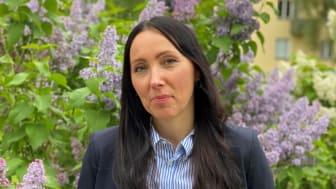 Pia Nyström, blivande rektor på Bandhagens skola.