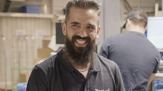 Mohammed Dallachi jobbar på Logistikapoteket på Tamro