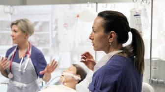 Bild från högskolans Kliniska Lärandecenter.