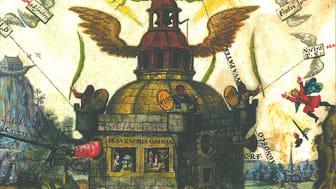 Cover des Katalogs zur Ausstellung ‹Göttliche Weisheit – Göttliche Natur› (Zentralbibliothek Zuerich Bibliothek Oskar R. Schlag)