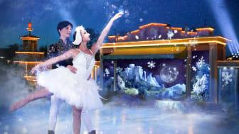 This Christmas at Liseberg: Swan Lake on ice