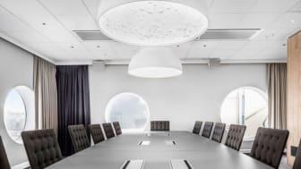 Konferensrummet Santiago Bernabéu på Quality Hotel™ Friends är ett av många rum som du kan boka genom den nya funktionen.
