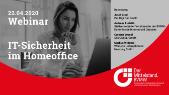 BVMW Webinar IT-Sicherheit im Homeoffice