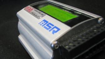 Liten logger med display för smart övervakning