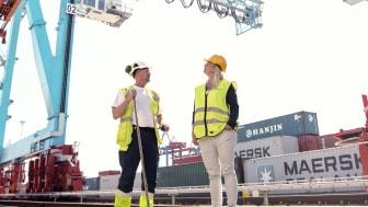 Efterfrågan på miljövänliga transporter blir allt större, något som APM Terminals Gothenburg tycker är mycket positivt. Som en följd av det, ökar de tågkapaciteten ytterligare.