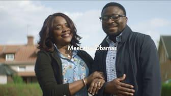 Familjen Obama i nytt samarbete i Sverige.
