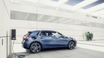 I december 2020 var två av tre (65 %) sålda Mercedes-Benz i Sverige laddbara.