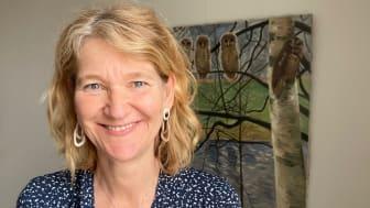 Läraren Thérèse Halvarson Britton, Globala gymnasiet i Stockholm, är en av mottagarna av Vitterhetsakademiens lärarpris 2021.
