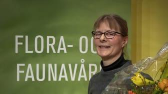 ArtDatabankens naturvårdspris 2019 Karin