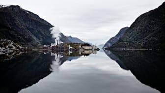 Sinkverket Boliden Odda øker produksjonen og energieffektiviteten med ny teknologi (Foto: Boliden).