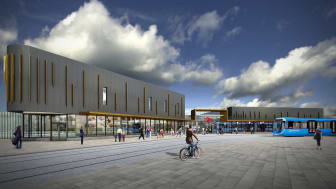 How the finished Wolverhampton Interchange will look