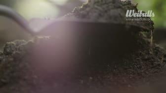 Weibulls 100 procent återvunnen jord