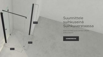 INR lanseeraa digitaalisen työkalun, joka mullistaa suihkuseinien suunnittelun ja tilauksen
