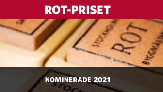De tävlar om ROT-priset 2021