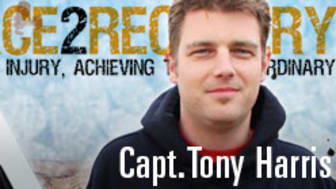 'Help for Heroes' Official Ambassador and motivational speaker, Tony Harris, to join Fred. Olsen Cruise Lines'  'D-Day Anniversary Cruise' in 2014