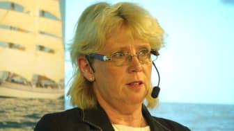 Lena Ek i paneldebatt på Allt för Sjöns Miljötorg