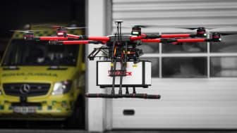 Falck med ny ambition: Paramedicinere  i bemandede droner skal redde flere liv