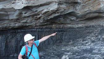 Längs med kusten utanför Sidney studerade forskaren Stephen McLouglin den tydliga gränsen för de svarta, kolrika berglagren. Gränsen uppkom när 70% av alla växter på land försvann vid det tredje massutdöendet i jordens historia för 252 m