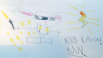 Kippi Kanin originalteckning