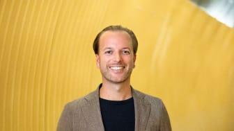 Daniel Larsson, vd för DIBS