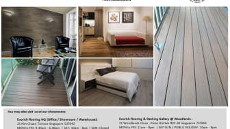 Evorich Flooring Group at 'Good to be Home' EXPO 2015