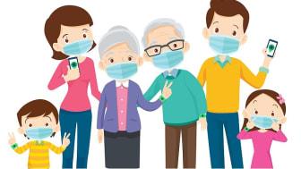 Die App als digitale Ergänzung zu weiteren Schutzmaßnahmen, wie das Abstandhalten, persönliche Hygiene und Tragen eines Mund-Nase-Schutzes