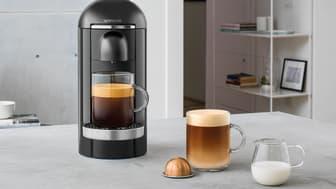 En ny dimension av kaffe: Nya Nespresso Vertuo – från liten till stor kopp