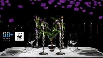 Imorgon, den 27 mars, är det Earth Hour. Då släcker vi ner alla lampor och dukar upp med en romantisk candlelight dinner i herrgården.