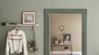 Tapetkollektion Lyckebo - designad av Hanna Wendelbo