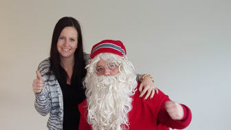 Jultomten och familjevänliga vinteräventyr ska locka finska gäster